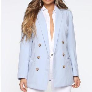 Fashion Nova Oversized Blazer